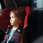 The right place for children in the car