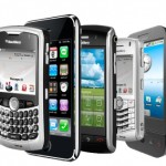 The development of mobile phones and smartphones
