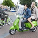 Holland: taxis become electric scooters