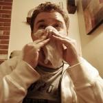 Does sodium chloratum in saline nasal sprays against colds?